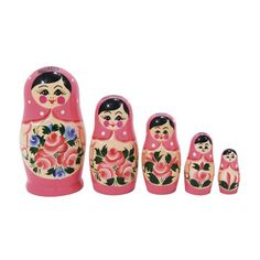 Nesting Doll Pink 5Pc, $32, now featured on Fab.