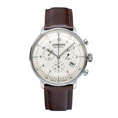JUNKERS Bauhaus Quartz, 6086-5, Chronograph, creme | eBay