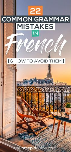 Common Grammar Mistakes in French and How to Avoid Them