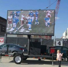We do tailgating events ....Complete Audio and Video and 4ft bbq event grill all at one package deal . ddmmedia.com #ddmmedia #golions #onepride #bigasstv.