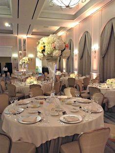 Lauren + Harris Ballroom Reception Centerpieces | fsdallas