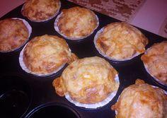 (1) Pikáns muffin | Nici receptje - Cookpad receptek Muffin, Breakfast, Recipes, Food, Gastronomia, Morning Coffee, Essen, Muffins, Eten
