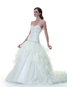 Illusion Bridals - BALL GOWN - SWEETHEART  -CHAPEL TRAIN   - 94964A , $363.00 (http://www.illusionbridals.com/ball-gown-sweetheart-chapel-train-94964a/)