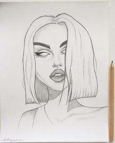 65 Ideas cool art drawings sketches for 2019 Tumblr Girl Drawing, Girl Drawing Sketches, Sad Drawings, Dark Art Drawings, Pencil Art Drawings, Sad Girl Drawing, Sketches Of Girls, Drawing Drawing, Tumblr Sketches