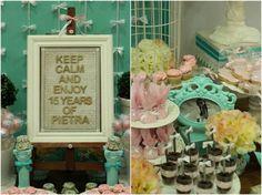 mesa doces festa 15 anos