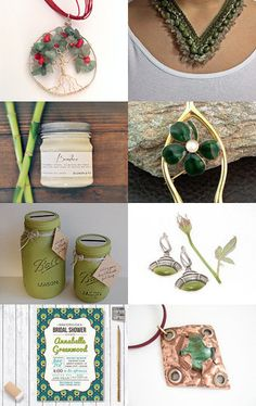Green with envy by Elaine on Etsy--Pinned with TreasuryPin.com