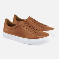 Sharpen up your off-duty look with our luxurious sneakers. This exciting take on minimalist luxury is handcrafted in Europe by master artisans from full-grain leather, making them a look that will nev