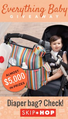 "The most spot-on comment on a Skip Hop product on weeSpring: ""they thought of everything."" From diaper bags to nursery decor, they've achieved that perfect (and rare!) balance of utility and style (not to mention cuteness).  Want to win $500 in Skip Hop products (and everything else you need for a baby)? Enter at wee.co/win from August 10 to August 20! #everythingbaby"