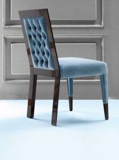 Luxurious On Wenge Velvet Chair