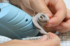 My country nest: Tutorial: fabric roses