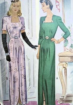 I like the style of the dress, particular how it looks on the right with the solid green and jewels.