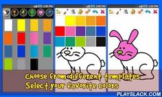 Draw & Color Book For Kids Android App - playslack.com , One of the best free coloring drawing and painting tool on the Android market!!Use this super entertaining app to draw pictures with your fingertips! Pick your favorite tool between a pencil, a felt-tip and a paintbrush to set your fantasy free. Show your friends what you are able to create.Kids will enjoy painting using their creative ideas.There are also a lot of predefined cartoon pictures divided in different categories such as…
