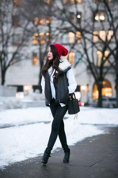Snow Day :: Asymmetric sweater
