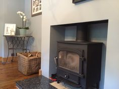 Dining Room and Wood Burning Stove Installation, Surrey
