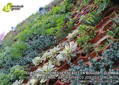Curso de Jardines Verticales en Bogotá, Colombia - 11 y 12 de septiembre