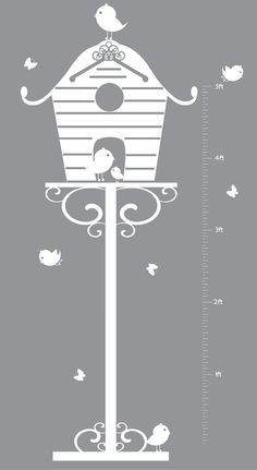wall decal - growth chart