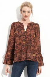 Double layer chiffon blouse