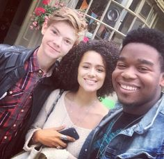 dexterdarden: and I Got to check out my brother in his first live play super proud of this dude! Maze Runner Trilogy, Maze Runner The Scorch, Maze Runner Cast, Maze Runner Movie, Maze Runner Series, Runners Outfit, Lee Thomas, Teresa, Nathalie Emmanuel