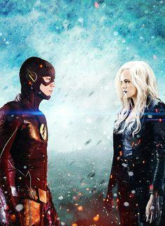 Flashfrost //Snowbarry Barry Allen & Caitlin Snow