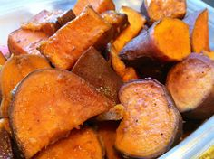 Spicy & Sweet Balsamic Yams | Kait's Primal Kitchen
