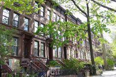 New York City Boroughs ~ Brooklyn | Brownstones in Prospect Park