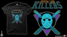 Crystal Lake Killers  Friday 13th / Jason by ArtBrokenGoods
