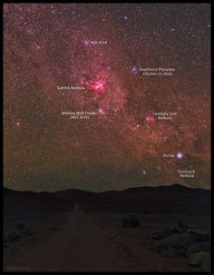 Atacama Desert near the Cerro Armazones peaks - Chile