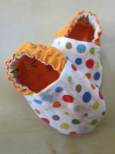 Reversible Baby/Child Shoes Tutorial