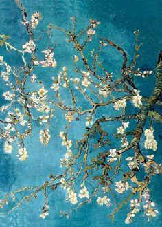 Çiçek Açan Badem Ağacı (1888) -- Vincent Van Gogh.