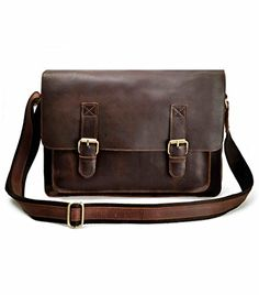 Leather Doctor Bag Antique Crossbody Bag by camerasbagstraps ...