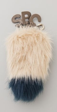 See By Chloé Fox Tail Key Ring in Blue (midnight) - Lyst