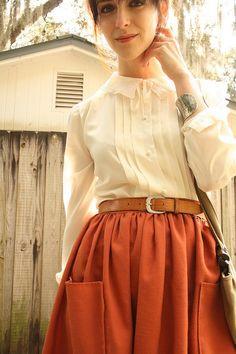 Bohemian Adjustable Bustle Maxi Skirt by MiloCreativeStudios,