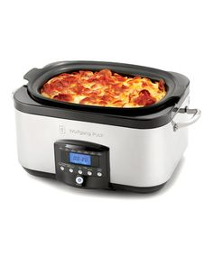6-Qt. Multi-Cooker by Wolfgang Puck - slow cooker, roasting oven and skillet with dual heating elements