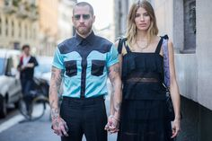 Brioni's New Creative Director Justin O'Shea is a Street Style Darling - Justin O'Shea-Wmag