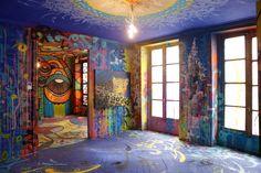apart-3e-etage-loftdu34-marko-93-photo-nicolas-giquel-2 Grand Format, Oeuvre D'art, Les Oeuvres, Images, Photos, Universe, My Style, Painting, Parisian Apartment