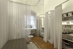 Screen and Shroud: 8 Projects That Rethink Curtains in Architecture - Architizer