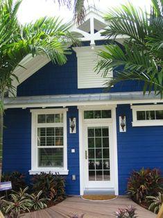 beach cottage exterior color scheme | because these colors are so happy and bright they are