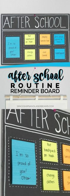After School Organization Ideas!                                                                                                                                                                                 More