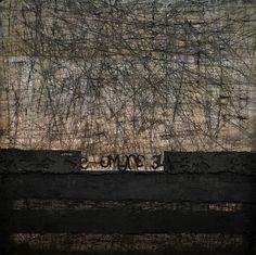 Javier Liébana. Oil on wood / Óleo sobre tabla 100x100