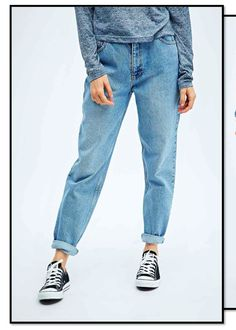 PRICE  Mom jeans to be retailed at £55. Мода 90 Х 81ea2a89317e8