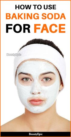 Benefits of Baking Soda for Face: How To Use? Beauty experts say that there are many benefits which baking soda can offer for facial skin care. So what are the Benefits of baking soda for face if Baking Soda Benefits, Baking Soda Uses, Baking Soda Beauty Uses, Beauty Tips For Face, Beauty Skin, Face Beauty, Beauty Care, Beauty Ideas, Face Tips