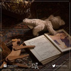 Oh look, it's some of the children's toys! #Downton #DowntonAbbey #Toys #Vintage #BehindTheScenes