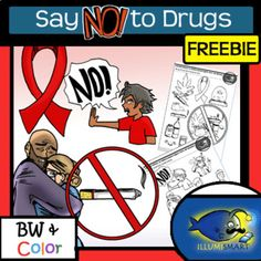 Prepare for Drug Awareness discussions with diverse age-appropriate visuals that speak to tween and teen students. Freebie includes 8 pieces of clip-art from the extensive Educational Activities, Learning Resources, Teacher Resources, Red Ribbon Week, Secondary Resources, Classroom Management Strategies, Health Class, Drug Free, Character Education