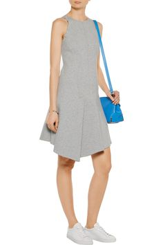 10 Crosby by Derek LamPleated cotton-blend midi dressfront