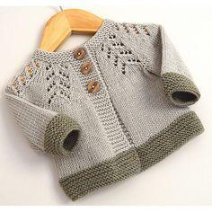 Baby Sweater Patterns, Baby Cardigan Knitting Pattern, Knit Baby Sweaters, Baby Knitting Patterns, Baby Patterns, Knit Vest, Sewing Stitches, Crochet Baby, Knit Crochet