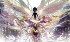Deemo! I love this game the art in it is beautiful