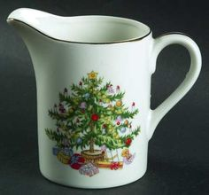 Lefton Christmas Tree Creamer