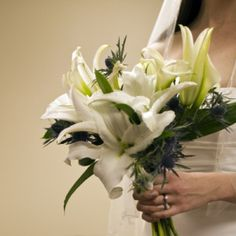 Charlotte Wedding Flowers | Wedding Bouquets | White Bouquets