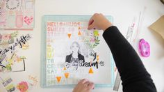 Live it up: A Scrapbook Process video by Wilna