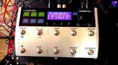 Chappers checks out the TC-Helicon Voicelive 3